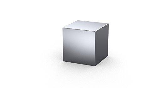 MTS Magnete–10x Magnet Cube Neodym, 10x 10x 10mm, vernickelt, Grade N52