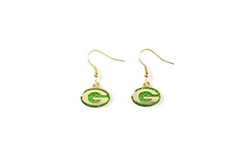 NFL New York Giants Glitter Dangler Earrings