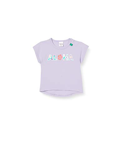 Fred'S World By Green Cotton Aloha T T-Shirt, Violet (Lavender 015381701), 86 Bébé Fille