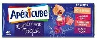 Apericube Carrement Toque (Saumon, Figue Noix, Jambon Cru, Foie Gras) (x48) 250g
