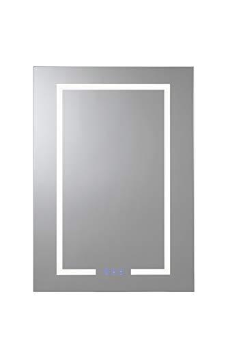 Croydex Single Door 50x70x15 Illuminated Cabinet Clarence-Armario con iluminación de una Sola...