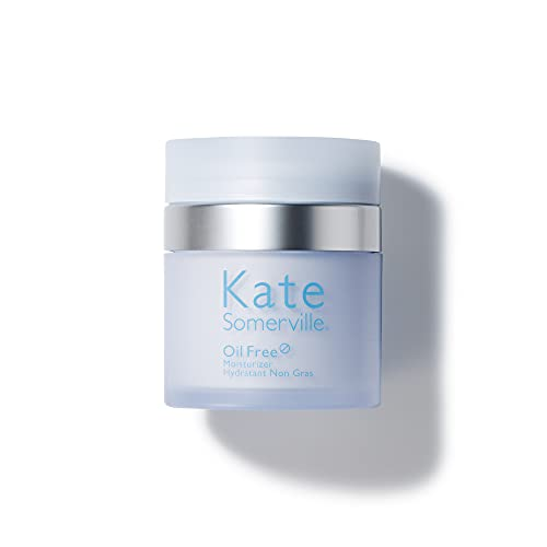 Kate Somerville Oil Free Moisturizer   Clinically Formulated for Oily Skin   Lightweight & Non-Greasy   1.7 Fl Oz