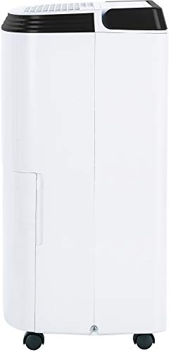 Honeywell Basement & Small Room Up to 1000 Sq. Ft, TP30AWKN Smart Wi-Fi Energy Star Dehumidifier, 30 Pint, White 12 POWERFUL DEHUMIDIFIER FOR ROOMS UP TO 4000 SQUARE FEET: This powerful beast effectively removes up to 70 pints of moisture from the air (50-Pint 2019 DOE Standard) to protect walls, curtains, furniture and appliances from excess household moisture. Ideal for large basements, living rooms, cellars, and storage rooms. PEACE OF MIND WITH A BRAND YOU TRUST: Honeywell Dehumidifiers are top rated by an independent, US-based product safety-testing agency since 2016 and all Honeywell Dehumidifiers are backed by an outstanding warranty. Plus, if you ever need help, the Honeywell Home Comfort customer service hotline connects you directly to an in-house customer support team who are ready to help (during office hours). SMART & VERSATILE: Wi-Fi-Enabled and compatible with Amazon Alexa voice commands, the Honeywell Smart Dehumidifier can be controlled from almost anywhere. Change humidity and fan-speed settings without moving away from your busy routine.