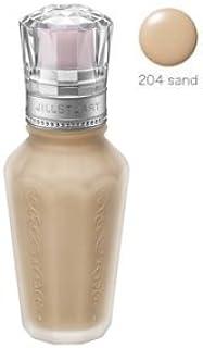 JILL STUART(ジルスチュアート) スムースシルク リキッドファンデーション 30ml (204 sand) [並行輸入品]