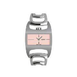 Alfex Uhr Silber/Pink