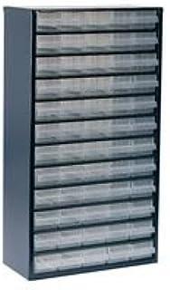 Raaco 1260-00 armario de acero, tamaño grande, 60 cajones