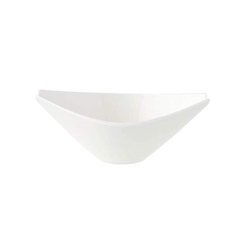 Villeroy & Boch Flow Saucière, 360 ml, Porcelaine Premium, Blanc