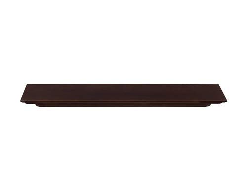 Pearl Mantels 618-60BRN Crestwood Mantel Shelf, 60-Inch, Chocolate Brown
