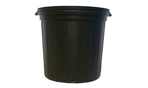 7 New Plastic Nursery 5 Gallon Trade Pot ~ Actual Volume: 3.9 Gallons