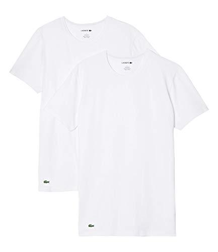 Lacoste Herren TH3455 Pyjama-Tops, weiß, XL
