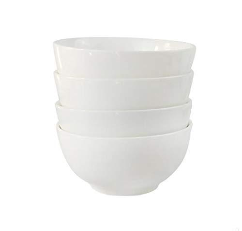 400ml Porzellan Suppenschüssel Salatschüssel 6er Set Dessertschale Müslischale
