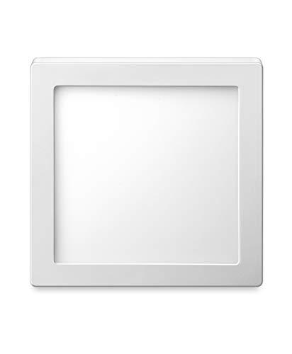 Luminária Inteligente Elgin Wi-Fi, Quadrada de Sobrepor, 18W, 3000-6500K, compatível com Alexa