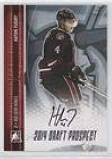 Haydn Fleury (Hockey Card) 2014 In the Game Draft Prospects - Autographs - Silver #A-HF2