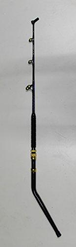 Xcaliber Marine Offshore Series 130lb Saltwater Deep Drop Swivel Tip Trolling Rod (Blue & Silver)
