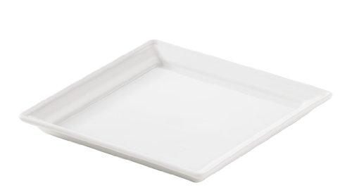 Revol 618732 Coupelle Carré Porcelaine Blanc 13,2 x 13,2 x 1,5 cm