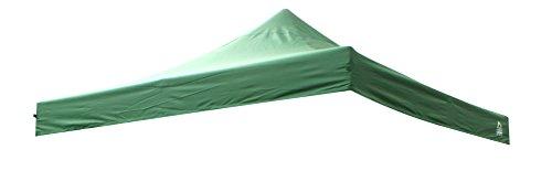 Gazebo per tutte le stagioni, completamente impermeabile, 3 x 3 m, di ricambio, per gazebo pop-up, colore a scelta (verde)