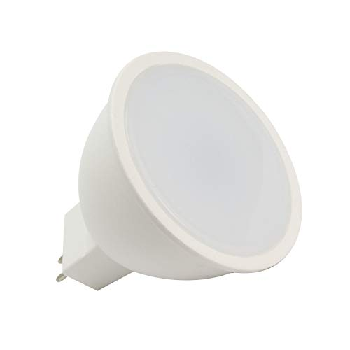 LEDKIA LIGHTING Bombilla LED GU5.3 MR16 S11 220V 6W Blanco Cálido 3000K