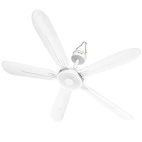 Fan lights Ventilatore da Soffitto Senza luci,Bianco,70cm/90cm,20W per Uso Domestico Silenzioso Piccolo Ventilatore con Interruttore e Lame in plastica