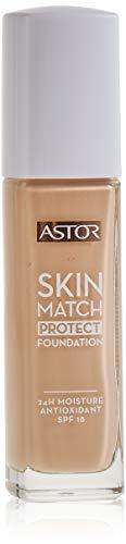 Astor Skin Match Protect Make Up, Farbe 101 rosé ivory, 1er Pack (1 x 30 ml)
