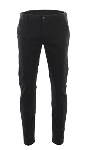 Access Boy's School Uniform Stretch Pants (Black, 14)