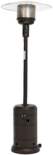 AmazonBasics Commercial Outdoor Patio Heater, Sable Brown