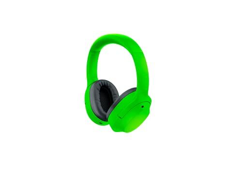 Razer Opus X - Cuffie wireless a bassa latenza con tecnologia ANC (cancellazione attiva del rumore, driver da 40 mm su misura, batteria fino a 40 ore), colore: Verde