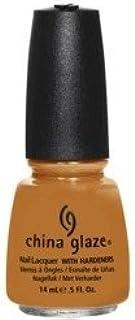 China Glaze Nail Polish, Desert Sun, 0.5 Fluid Ounce