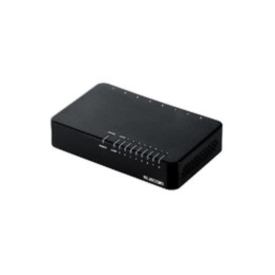 削るウェイトレス事業内容(21個まとめ売り) エレコム 100BASE-TX対応スイッチングハブ EHC-F08PA-B