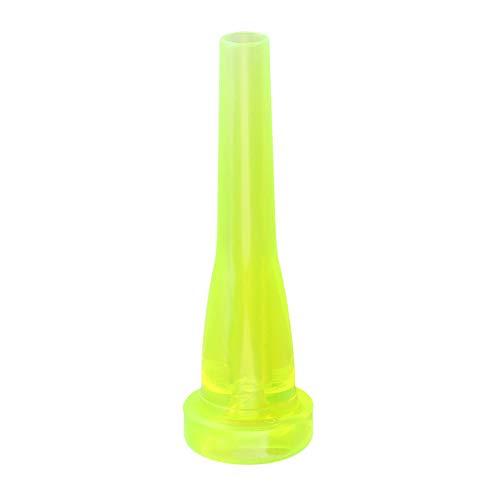 ABS-Kunststoff 7C Trompete Mundstück Trumpet Zubehör Trompetenmundstück (Leuchtendes Grün)