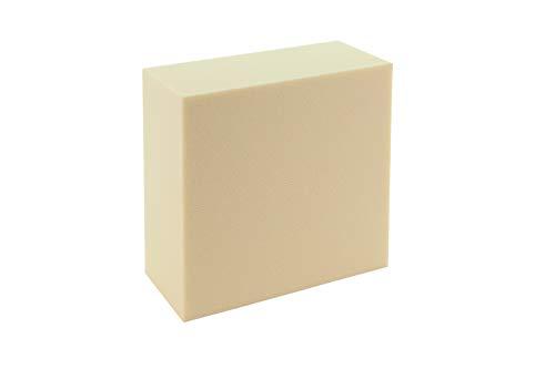 Sculpture Block SB 1515751 Hartschaumblock, Modellierblock zum anfertigen von Figuren, Objekte, Modelle, 15cm x 15cm x 2,5cm, 1 Block