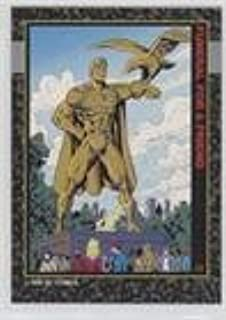 Funeral for a Friend (Trading Card) 1992 SkyBox Doomsday: The Death of Superman - Funeral for a Friend #C6