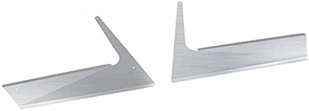CPW (tm) Kenworth T800 Stainless Fender Guards (Aerocab Models)