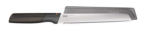 Joseph Joseph 10533 Elevate 8' Bread Integrated Knife Rest-Orange, Stainless-steel