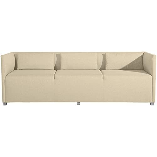 Max Winzer Sofa 3-Sitzer Equal Flachgewebe beige