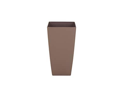Artevasi Maceta, Taupe, 33x33x61 cm, Pisa 60 cm