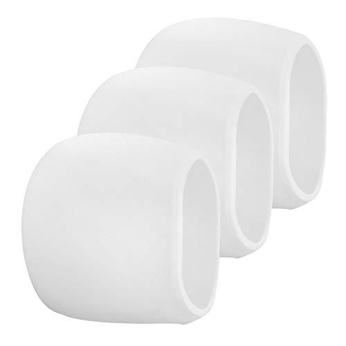 Funien Piel de Silicona de cámara, Estuche de 3 Paquetes de Silicona para Arlo Cameras Estuche de protección Resistente a la Intemperie, Blanco