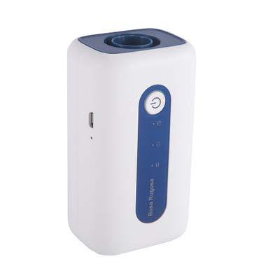 XKRSBS CPAP-Reiniger und Desinfektionsmittel Tragbarer Mini-Cpap-Reiniger-Sterilisator DREI Arbeitsmodi + 4 Adapter und Anschlüsse 25 Minuten für Cpap-Luftschlauchheizschlauch-Armaturen,Blue