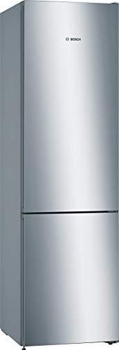 Bosch KGN39VLEA Serie 4 Freistehende Kühl-Gefrier-Kombination / E / 203 cm / 238 kWh/Jahr / Inox-look / 279 L Kühlteil / 89 L Gefrierteil / NoFrost / VitaFresh