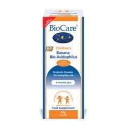 BioCare Children's Banana BioAcidophilus 60g