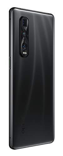 OPPO Find X2 Pro Smartphone débloqué 5G/4G - 512 Go - 12 Go de RAM - Recharge Ultra Rapide SuperVOOC 2.0 : 100% en 38 Min - USB-C - Android 10 - Téléphone Portable Noir Céramique