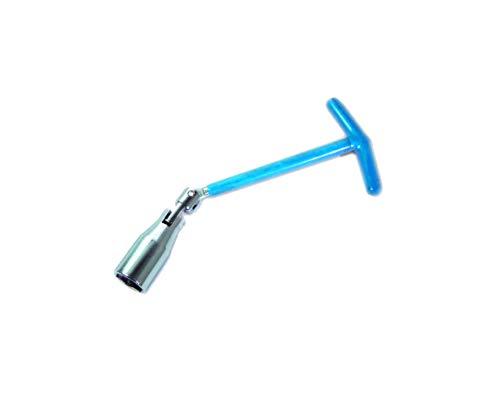 KIPPEN 1197B 1197B-Llave de doble articulación para bujía de 21 mm