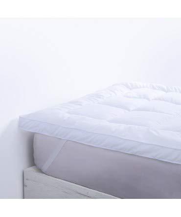 10XDIEZ Topper colchón Comfort - Medidas Topper colchón - 135 cm x 195 cm