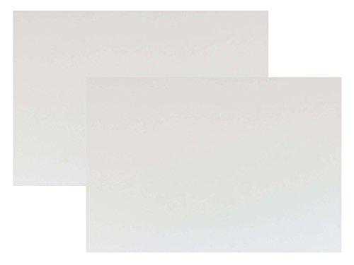 代引対応 カラーダンボール板 サイズ:850ミリx600ミリ 2枚セット カラー: (両面ホワイト)