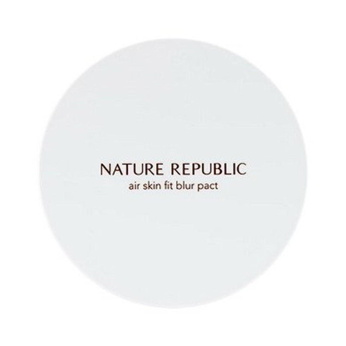 ハンカチ舗装する悪化する【NATURE REPUBLIC (ネイチャーリパブリック)】プロヴァンス エアスキンフィット ブラーパクト15g (SPF30/ PA+++) [並行輸入品]