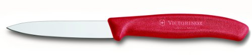Victorinox 6.7601 3.25 Knife, Paring, Red