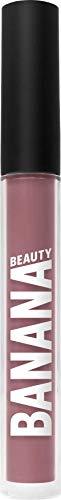 Banana Beauty Damn GRL (3 ml) – Semi Matte Liquid Lipstick – kussechter Lippenstift matt für volle Lippen – langanhaltender Lipgloss matt – dunkler Rosa-Ton