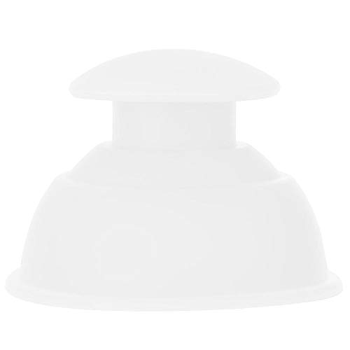 BLLBOO Silikon-Feuchtigkeitsabsorber Anti-Cellulit-Vakuum-Schröpfen-Cup-Massage-Set (weiß)