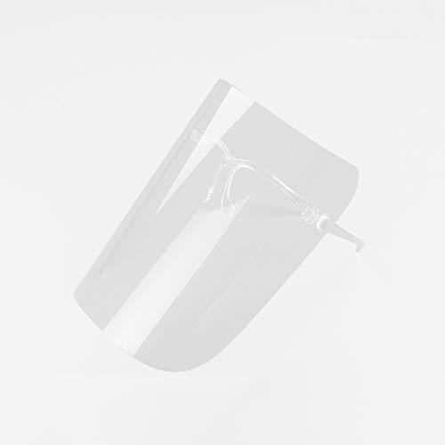 TOMYEER Küche Kochen Anti-Fog Anti-Öl Gesichtsabdeckung klare Gesichtsschutz Gesichtsschutz PVC Antibeschlagschutz Sicherer Schutz Gesichtsabdeckung