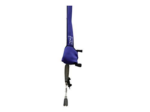Baitcaster Fishing Rod & Reel Cover 7-7.6' (Purple, 7-7.6')