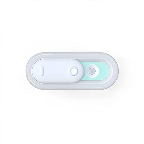 HRTX luz Nocturna, encienda/apague la inducción Inteligente del Cuerpo Humano, luz Nocturna del Dormitorio con Carga USB, luz Suave,